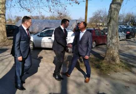 Ministar Zoran Đorđević obišao Pančevo